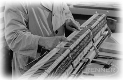 History of the Louis Renner Piano Action